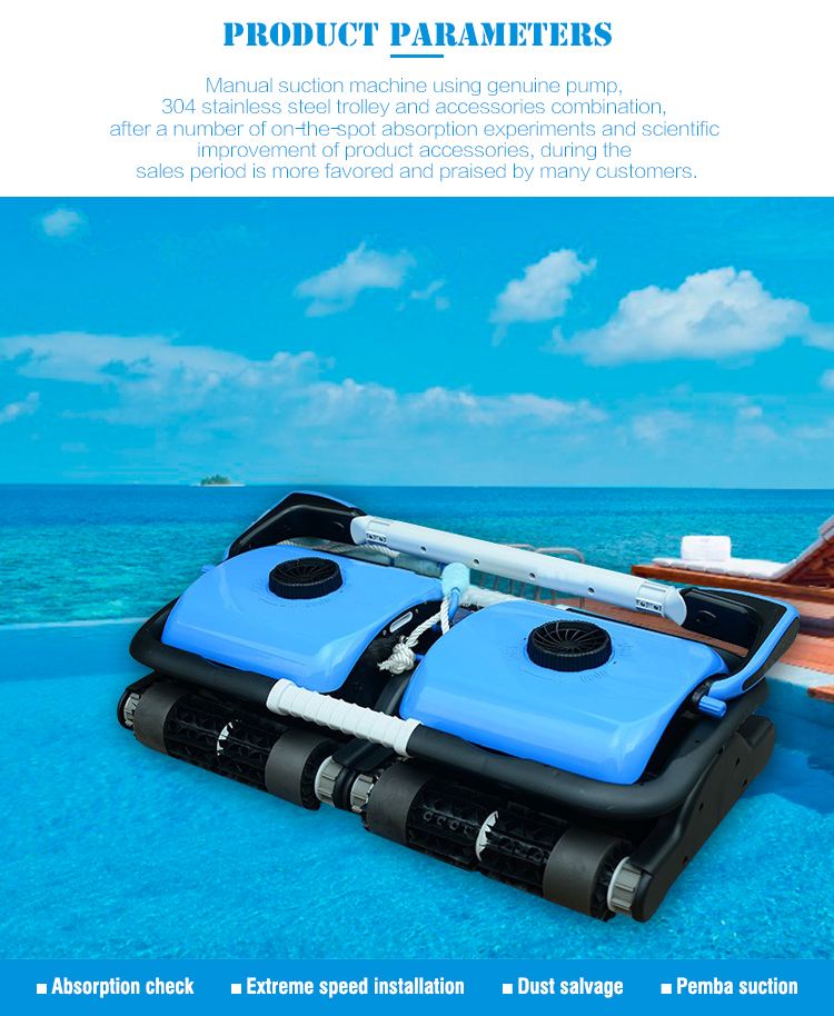 Guangzhou Factory Wholesale Automatic Commercial Pool Vacuum Cleaner