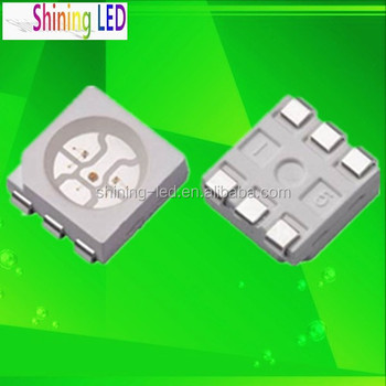 Active Component Single Color Diode 0.2w Smd 5050 Blue Led Data ...