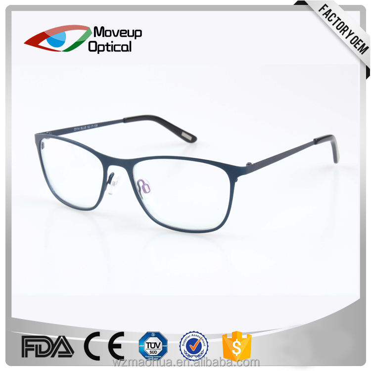 classic men metal fullrim optical frame eywear