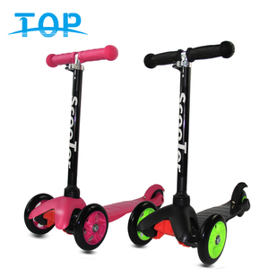 Popular kids toys child 3 wheel baby foldable scooter for sale