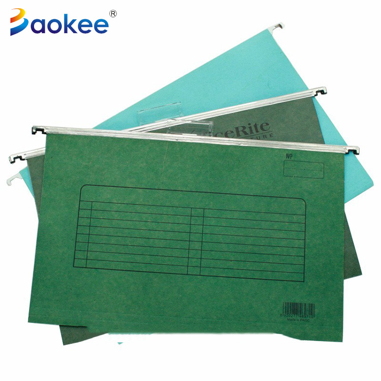 Office stationery school paper hanging file folder a4 design