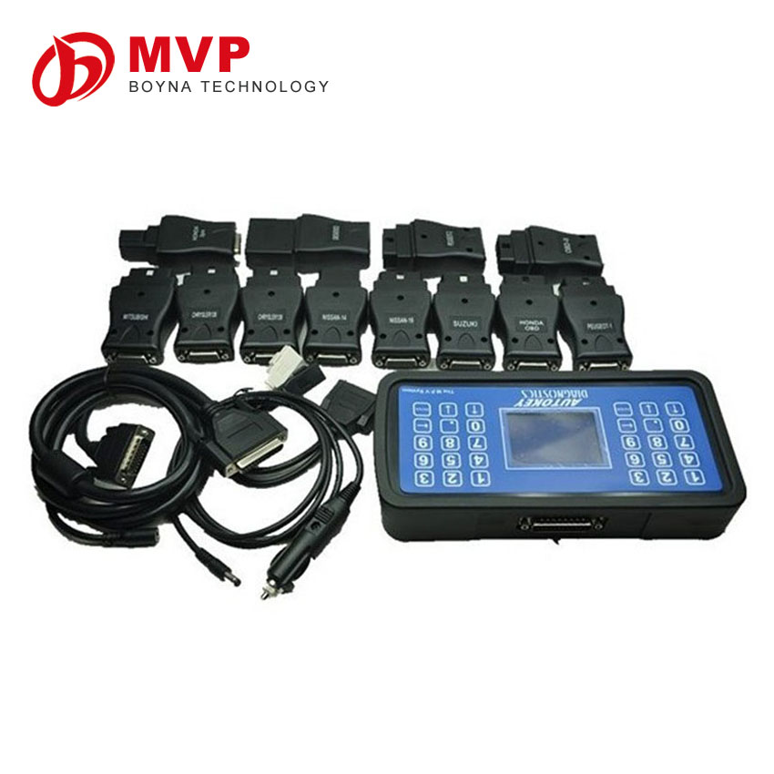 Best and cheap mvp pro key programmer multi vehicle programmer English and Spanish version V16.6 version