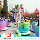 2017 popular amusement trader rotating swing coffee cup hot kids amusement park ride for sale