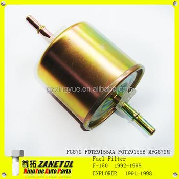 fg872 f0te9155aa fotz9155b mfg872m fuel filter for f-150 f ... 2004 ford f 150 fuel filter
