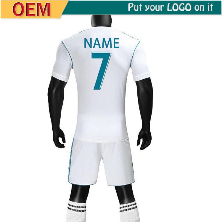 2018 player version Away black RM Soccer Jersey 1718 CR7 soccer shirt  Ronaldo Bale Football uniforms 3816ab60b