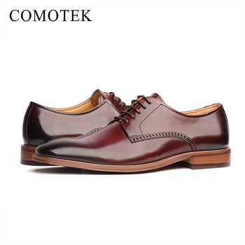 Official Website best cheap limited guantity Custom made soft sole genuine leather dress oxford shoes men formal shoes,  View formal shoes, COMOTEK Product Details from Guangzhou Hongjia Shoes ...
