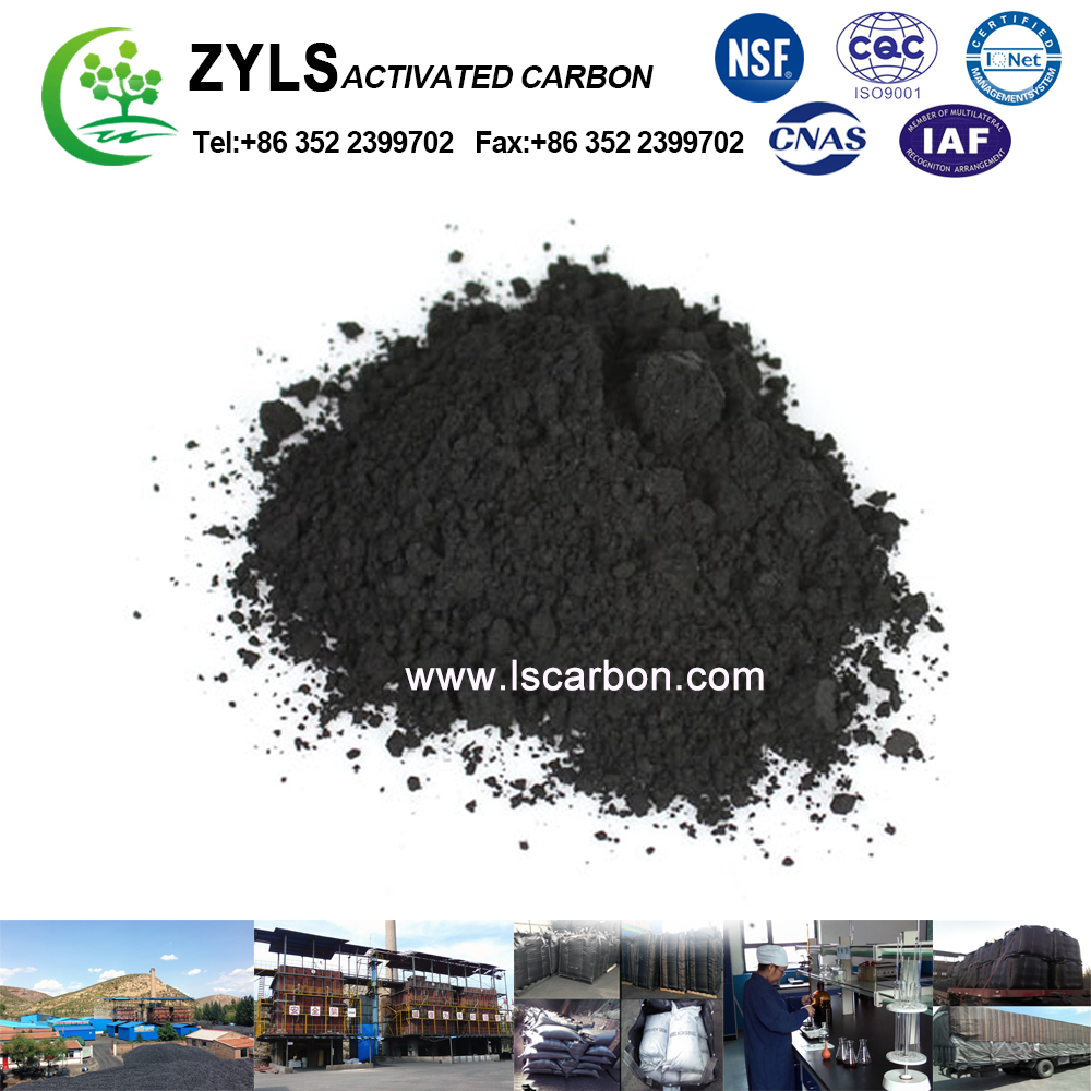 Water Adsorption Bituminous Coal Powder Activated Carbon