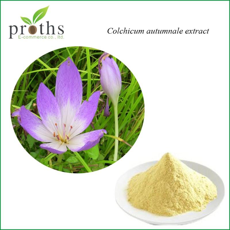 Colchicine extraction
