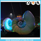 Party/Festival Giant Lighting Inflatable Conchs,Inflatable Spiral Shell,Lighting Conchs Inflatables
