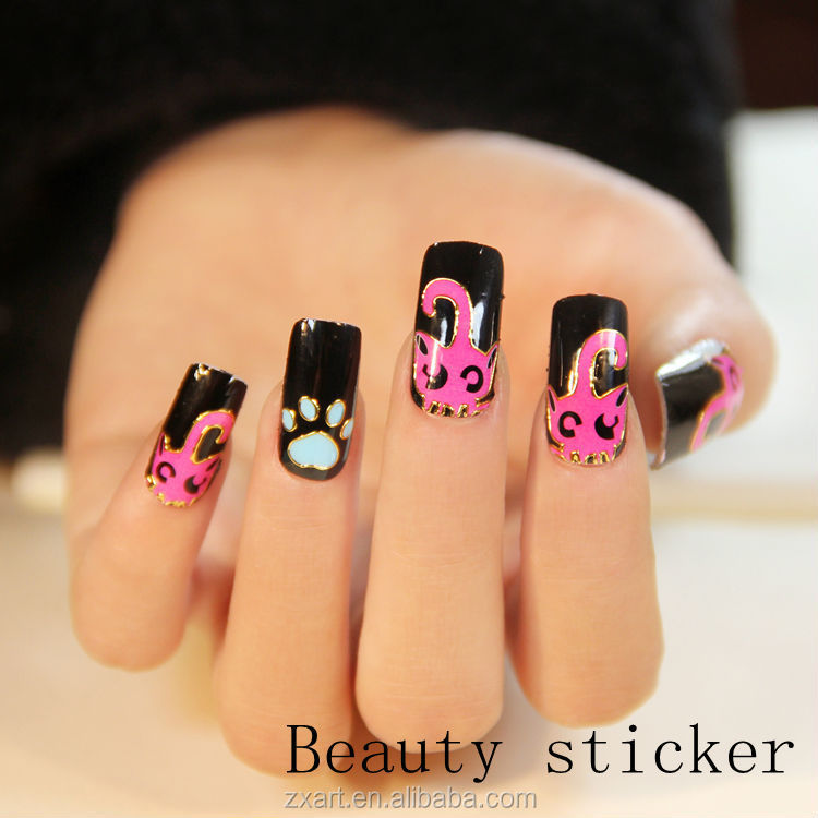 Decorative Nails Japanese Nail Art Supplies Nail Sticekr - Buy ...