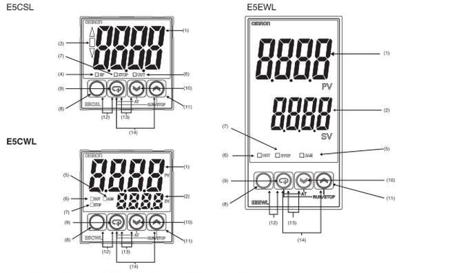 E5CWL R1TC Thermostat 6months Warranty