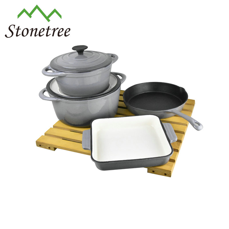 kitchen appliance cast iron dinner cookware sets