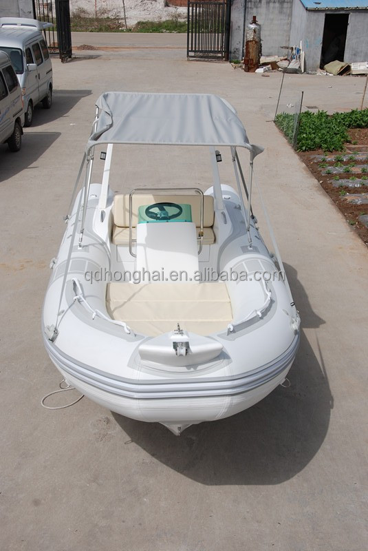 5.2m white fiberglass sea <strong>boat</strong> with CE certification inflatable <strong>boat</strong>