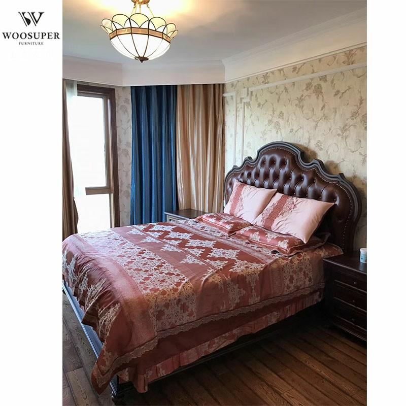 Manufacturer Luxury Bedroom Furniture Leather Bed Headboards Red Oak Bed Headboards Buy Furniture Bed Bed Headboards Pictures Of Wood Double Bed