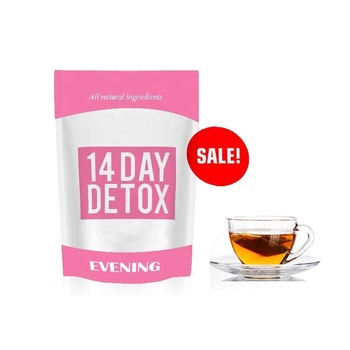 Private Label OEM 14 Day Detox Tea Reduce High Blood Pressure