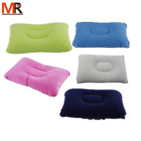 Soft Elastic Inflating Travel & Chair Back Support Air Pillow/Square Shape/Folding/OEM