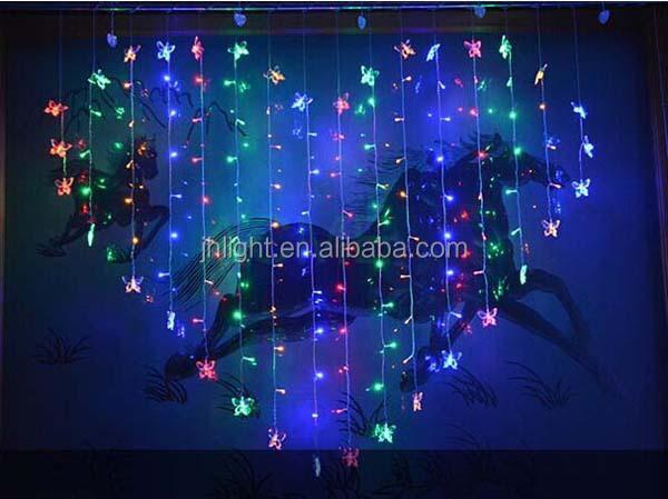 Lumières de fêtes En Forme De Coeur romantique LED Dégoulinant ...