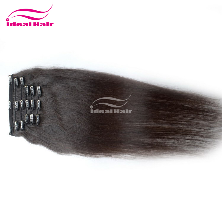 Remy Human Clip In Hair Extensionswholesale 8 Inch Clip In Human