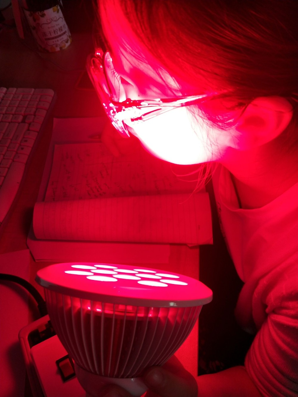 2018 Collagen Anti Aging 24w Red Near Infrared Led Light