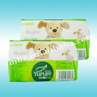China supplier CPP face tissue paper packing