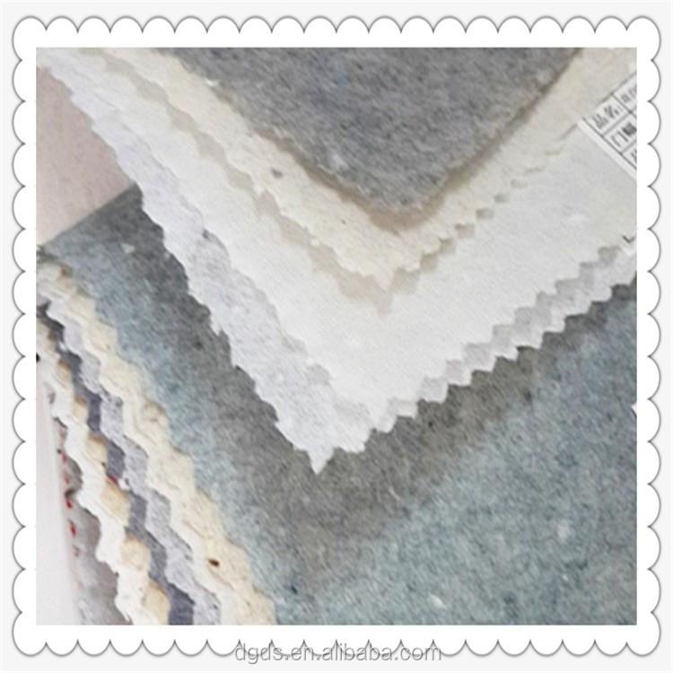 nonwoven fabric cotton interlining fusing paper 1030e embroidery