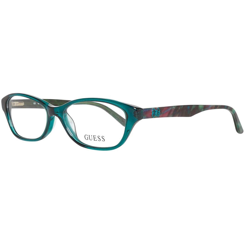 90b11f9b55 Get Quotations · GUESS Eyeglasses GU 2417 Crystal Green 52MM