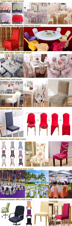 Cheap White Spandex Chair Cover White Wedding Chair Cover For