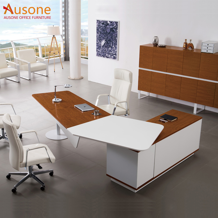 China Factory Office Furniture Half Round Desk Product On Alibaba