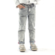 Men Skinny Ripped Jeans denim Side Pockets Jeans For Men