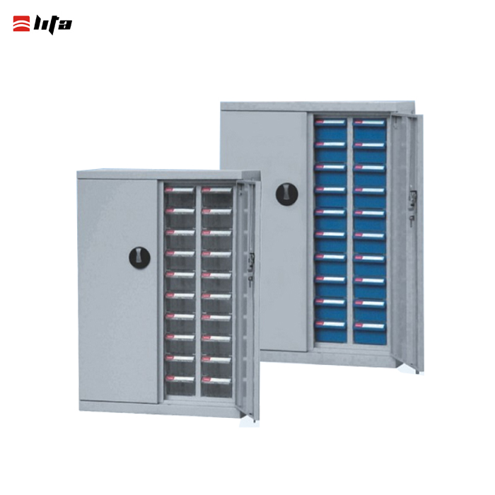 40 drawers steel parts storage cabinet
