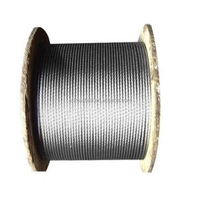 factory offer braided stainless steel wire key steel wire steel and wire company