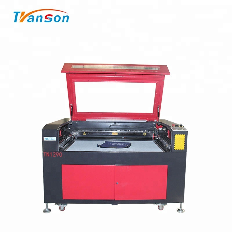 150W CO2 Laser Cutting Engraving Machine TN1290 with EFR F8 Tube used for  wood paper acrylic leather plastic stone glass