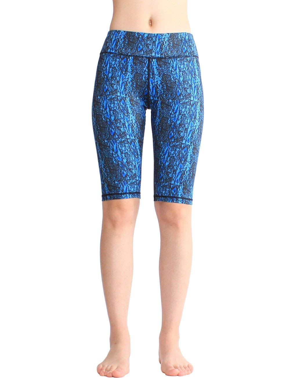 0ec26268bb Women's Workout Shorts Performance Printed Half Tights Leggings Shorts for  Running Yoga Fitness