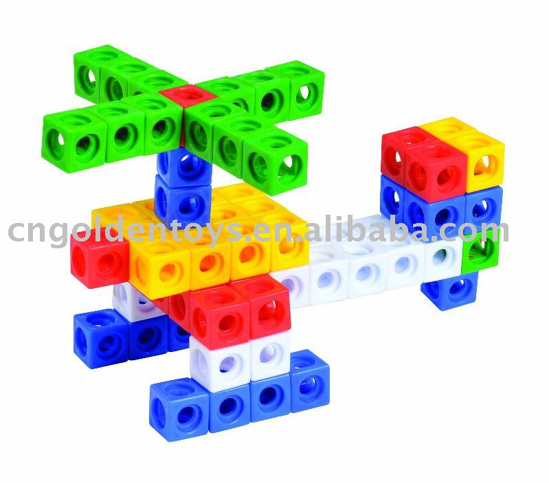 Creative Small Square Plastic Building Block Toys