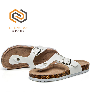 516bd302f High quality cheap unisex sandals beach daily cork sole ladies woman slipper