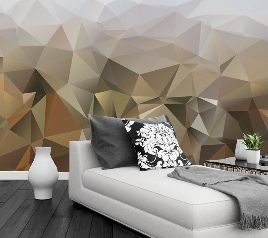 Custom Texture Abstraction Mural Wallpaper 3d, Living Room