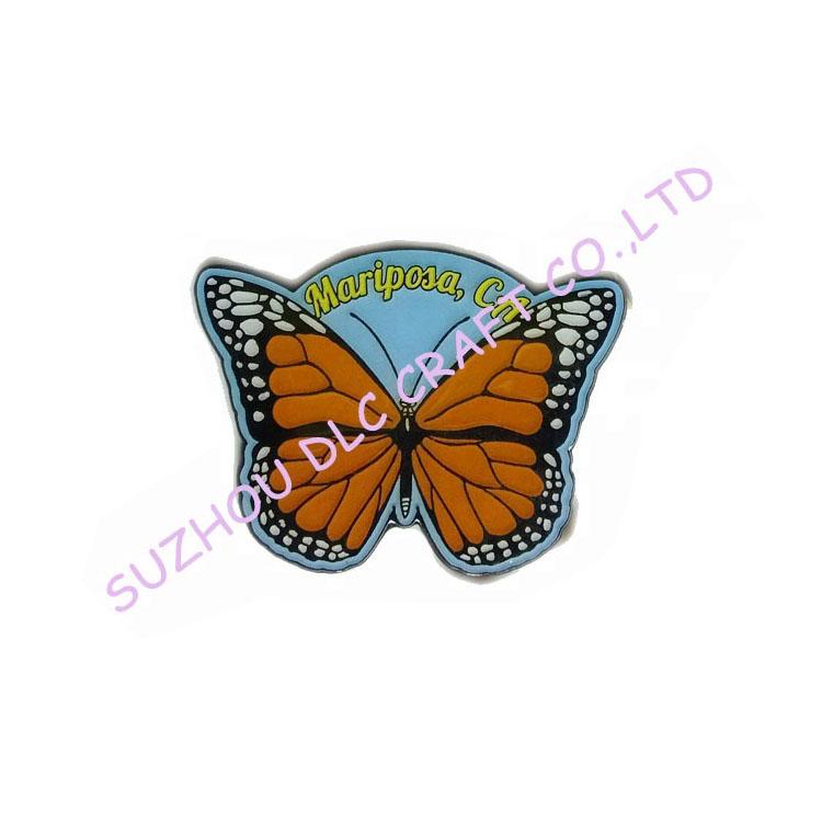 Commercio all'ingrosso A Buon Mercato Farfalla Che Fanno Custom Morbido Risvolto Metallo Pin Badge, Camicie con Colletto Pins