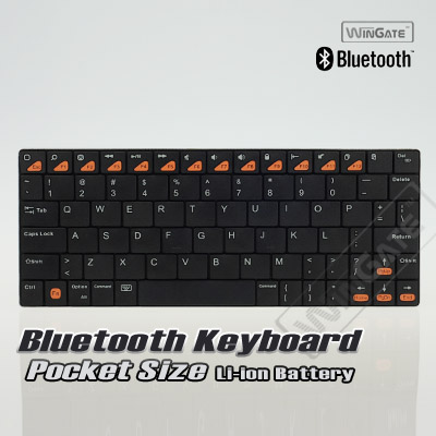 Bluetooth 3.0 Wireless Key board for Ap ple iP ad Air 5 5th Gen iP ad Mini (Retina)