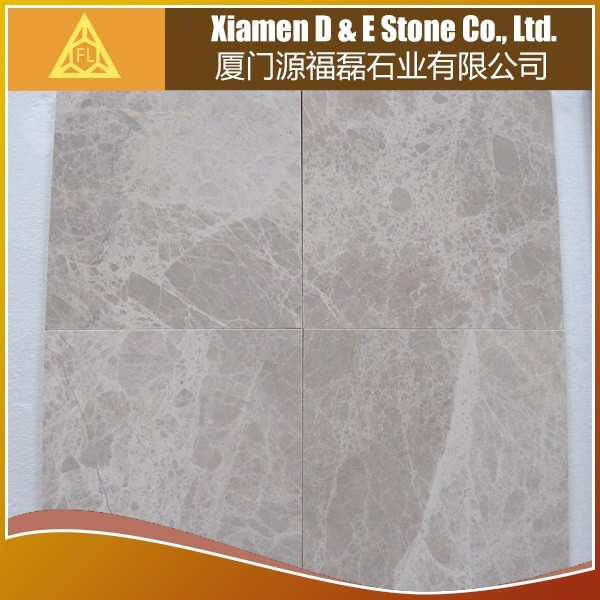 Professional Light Emperador Light Marble Stone Floor Wall Tiles