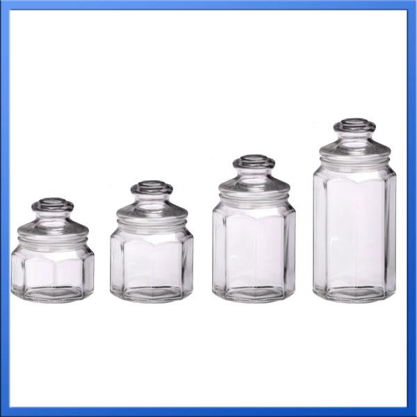china goedkope glazen pot glazen pot voor honing glazen potten groothandel canada opslag flessen. Black Bedroom Furniture Sets. Home Design Ideas