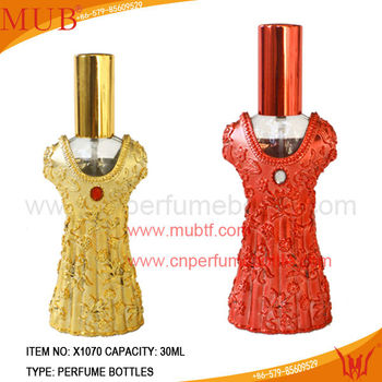 Alibaba China Supplier Women Shape Arabic Perfume Bottle
