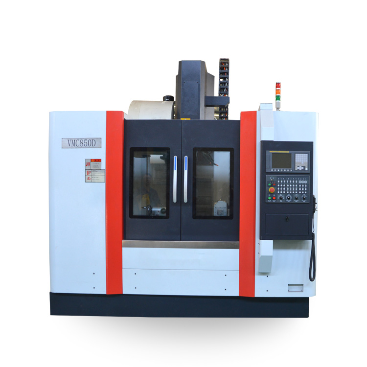 Vmc 850 Vmc 855 Vmc Machine Prijs 4-assige Cnc Freesmachine Cnc Verticale Bewerkingscentrum