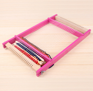ASTM Certified New Products Wooden Loom Toys DIY Play Toy for Sale