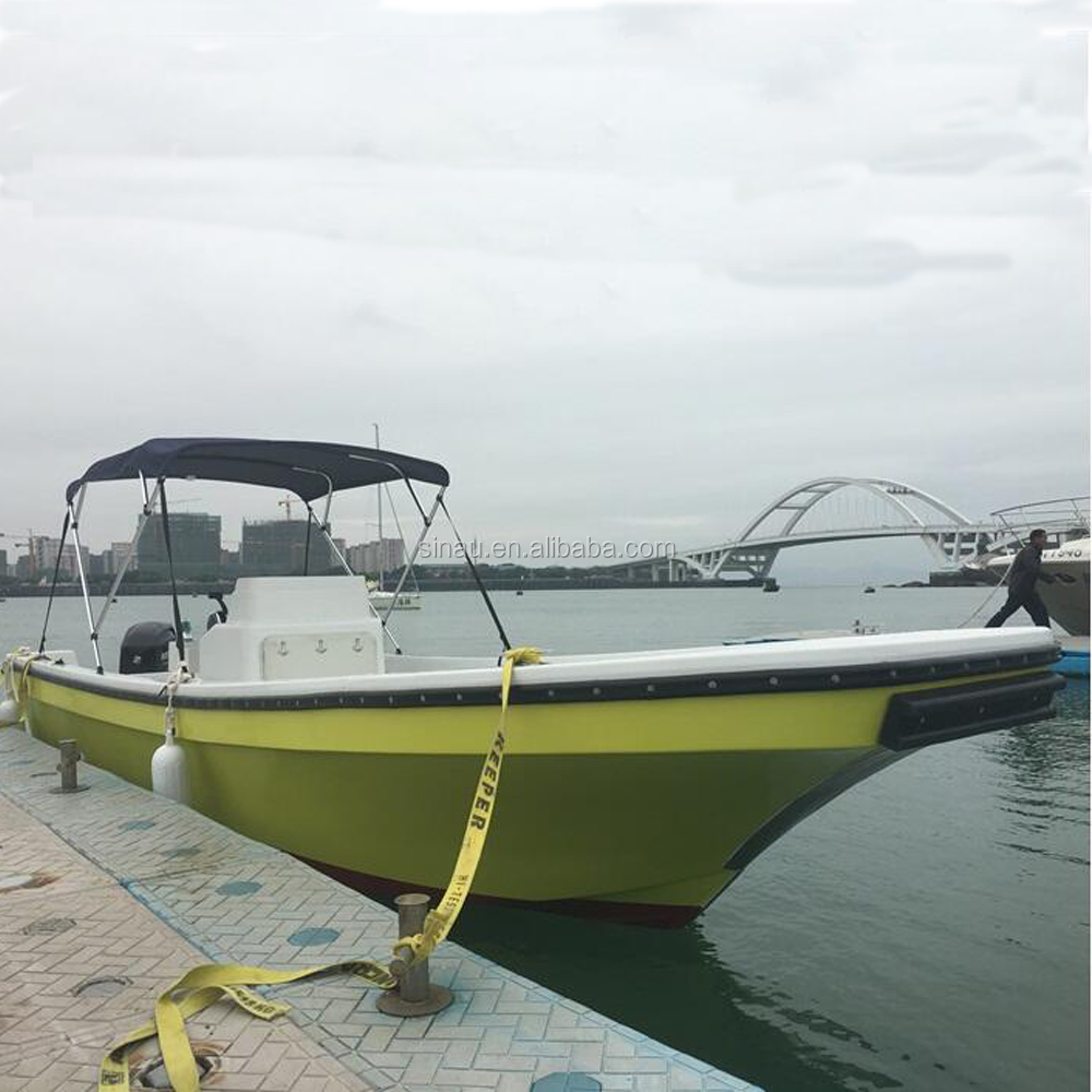 Hot Sale Fiberglass Panga Boats Fishing Boats With Center Console ...