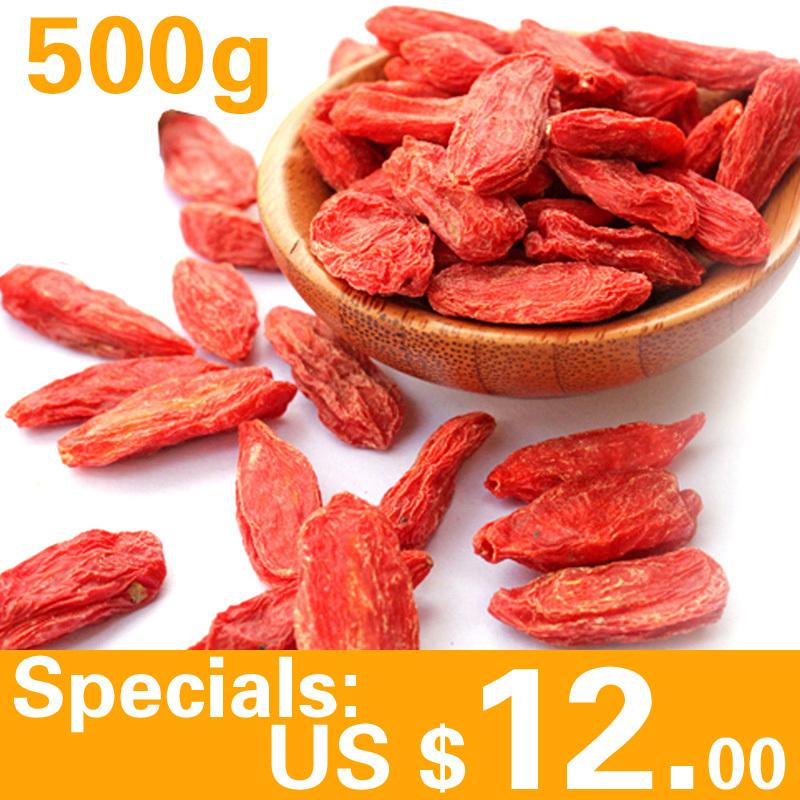 Wholesale Dry Goji Berry 500g Goji Berries Organic Dried Berry
