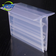 Promotional Custom Design lucite price card tag label business cards stand display holder