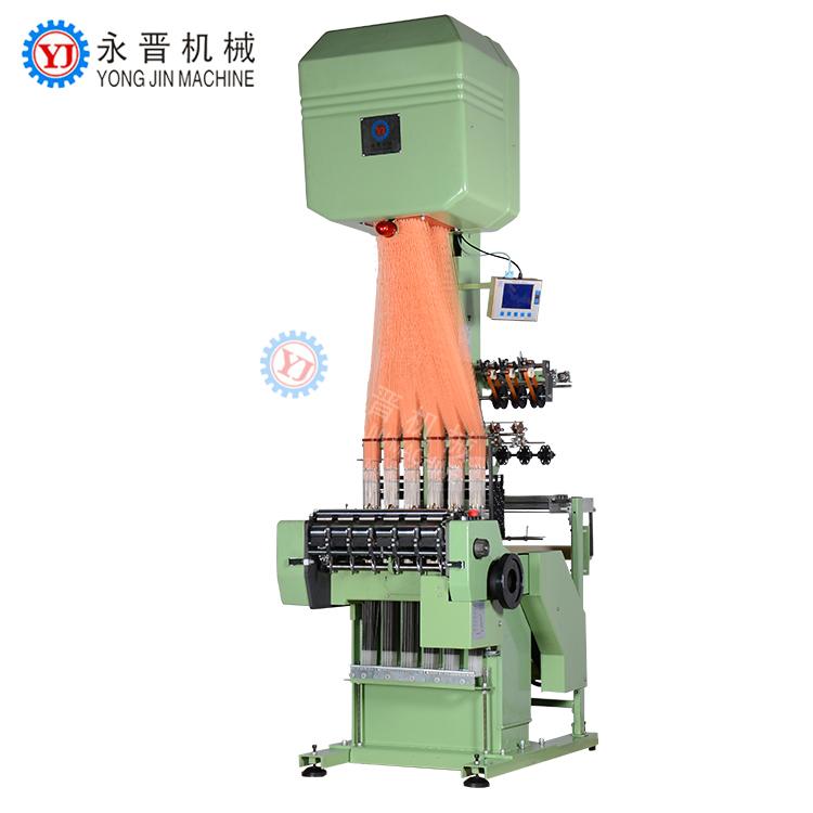 Estrecho tejido de jacquard loom máquina jacquard estampado simple elástico y no la luz peso cinturones y cintas