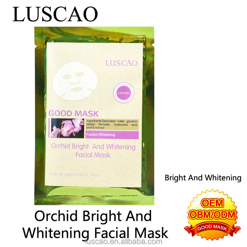 2014 hot sale best cream removal wrinkle for Orchid Bright And Whitening Facial Mask