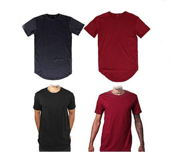 0a9ac9f2f1f0 STS029 Latest design longline t shirt custom bulk cotton muscle supreme t  shirts men