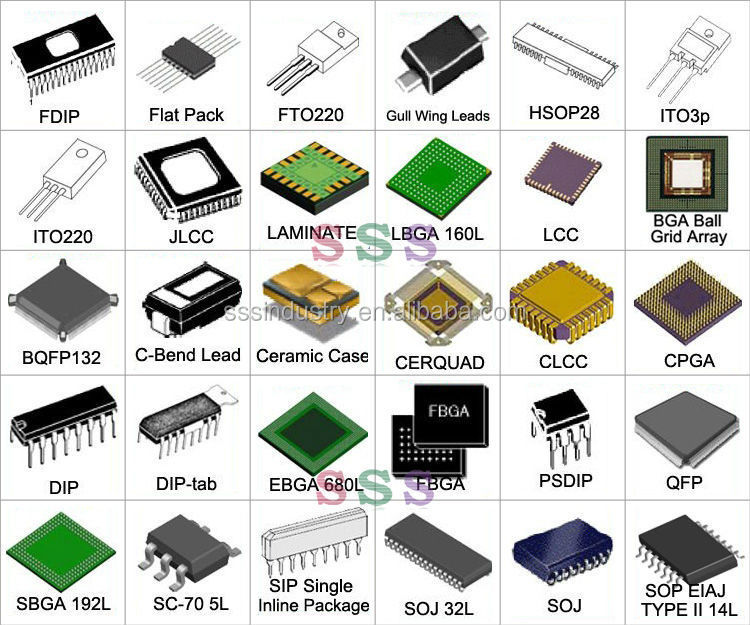 original electronic components voice recording ic chip